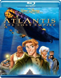 Blu-ray artwork Atlantis: The Lost Empire 2001 animatedfilmreviews.filminspector.com
