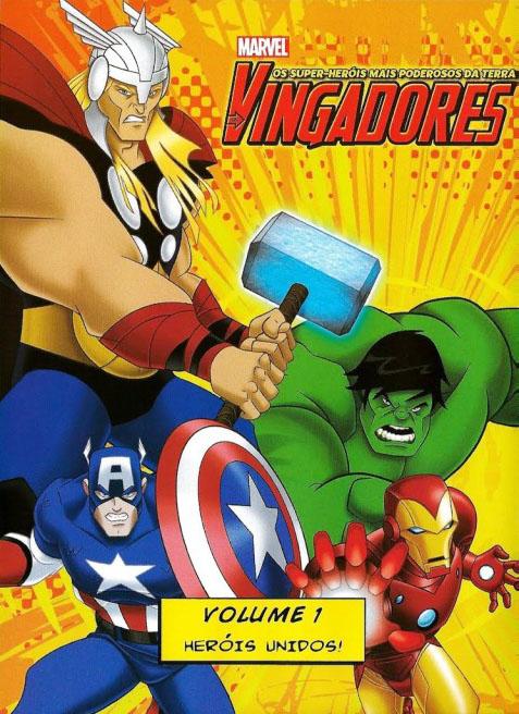 Os Vingadores: Os Super-Heróis mais Poderosos da Terra 1ª Temporada Torrent - Blu-ray Rip 1080p Dublado (2010)