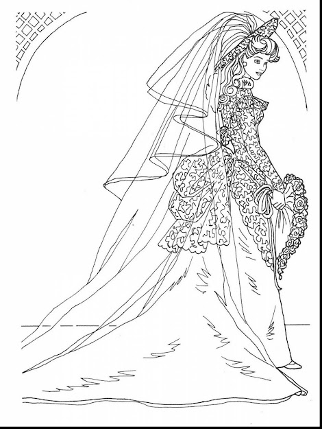 Extraordinary Beautiful Barbie Coloring Pages With Dress Coloring Pages And  Dress Up Coloring Pages