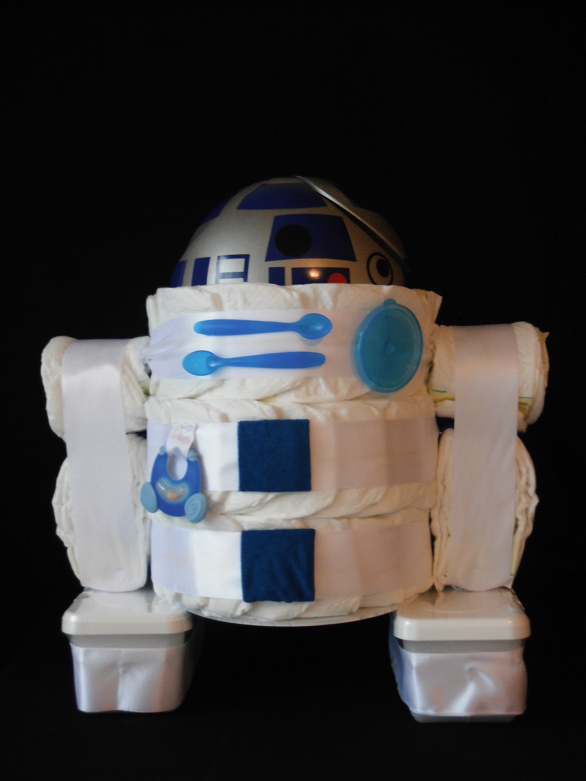Kc Creation Star Wars R2d2 Diaper Cake