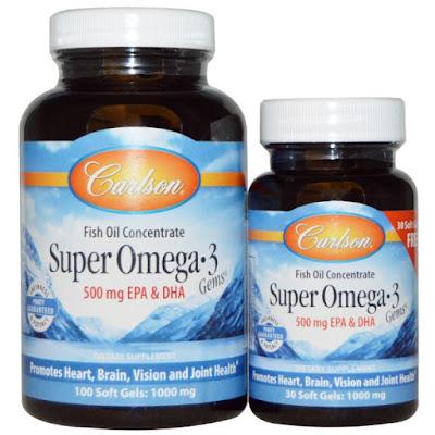 suplementy Carlson Labs Super Omega 3 iherb.com kupon OWI469