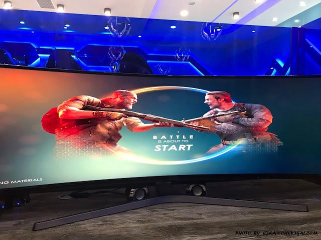 IMG 1234 - 台中大里│吉吉網路生活館-大里店。號稱台中最狂電競網咖,49吋大螢幕讓你身歷其境!