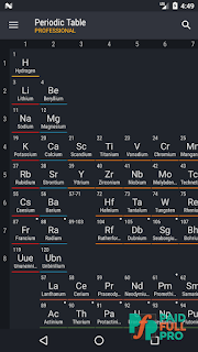 Periodic Table 2018 Pro Patched APK
