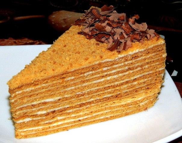 шеф-повар Одноклассники: Рецепт торта Медовик