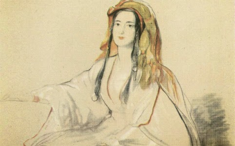 Figure 4: Lady Hester Stanhope (probably) by an anonymous artist