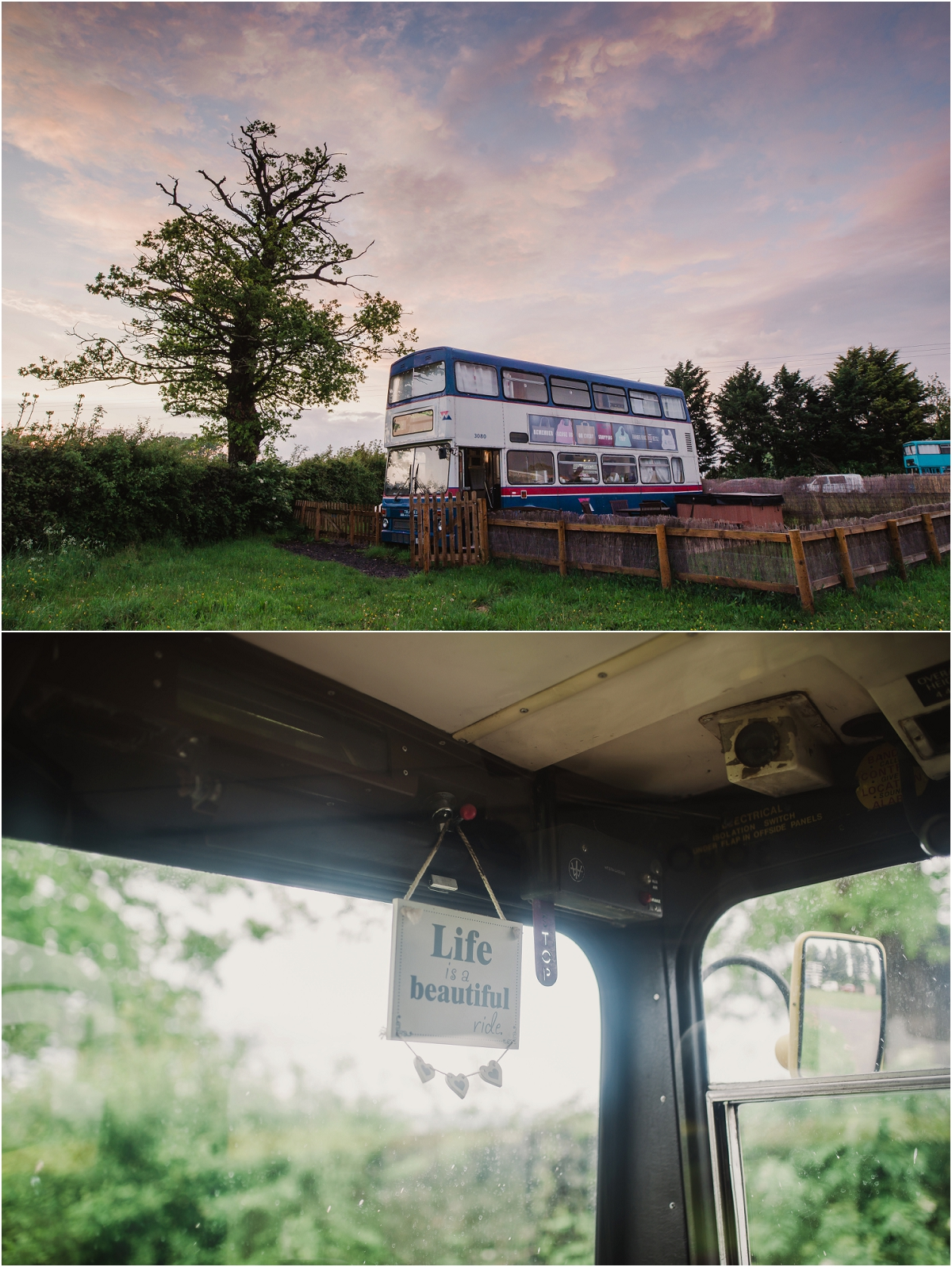 Pigeon Door nestled in the gorgeous countryside not far from Shrewsbury and overlooking the pointy sudden Shropshire hills is where we found Billie Bus ... & Bus Glamping at Pigeon Door | amy taylor imaging photography