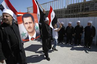 Manifestação no Golã  celebra independência da Síria