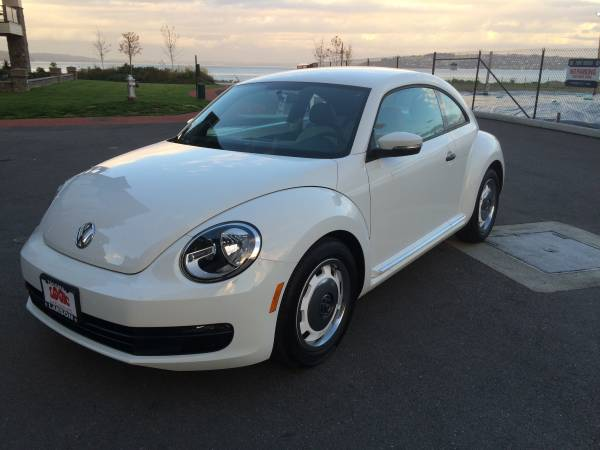 2015 VW Beetle Special Edition Class