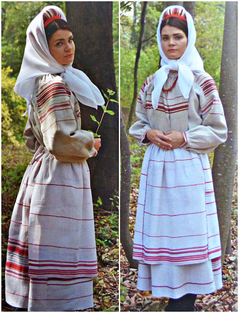 Western Palesse traditional costume from Belarus