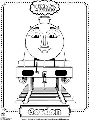 Gambar Mewarnai Thomas and Friends - 22