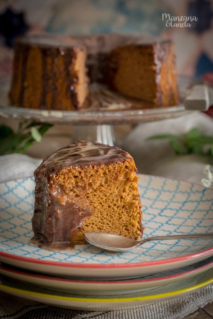 Chiffon cake de Nocilla