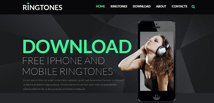 Plantilla HTML5 para Sitio de Tienda de Música