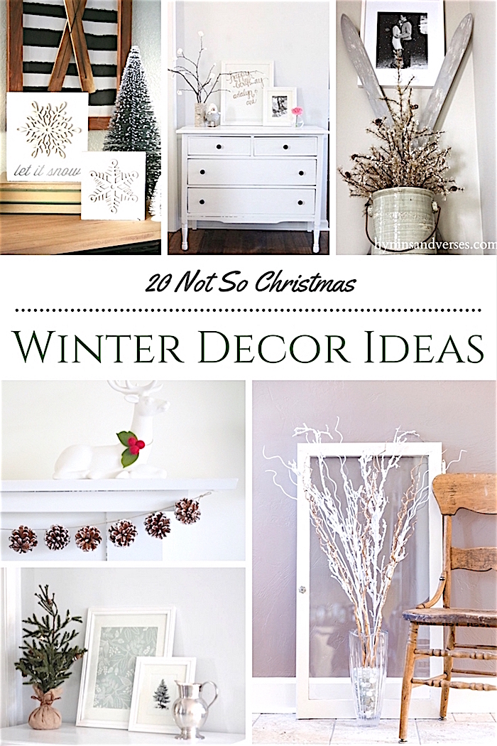 winter decorating ideas not christmas