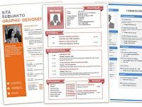 Contoh CV Fresh Graduate 2018 dan Download CV Menarik Doc