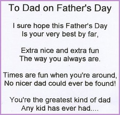 Fathers Day Poems with Images from Son