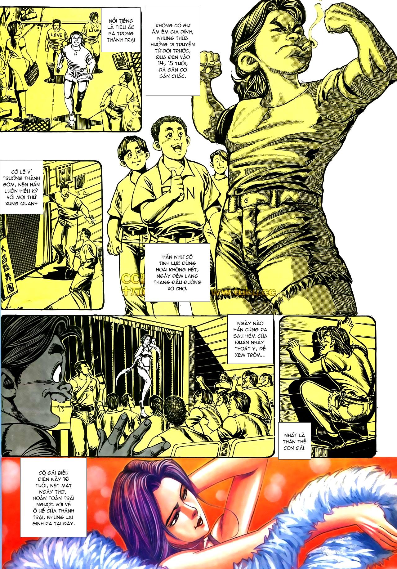 Người Trong Giang Hồ chapter 178: bối cảnh quạ đen trang 23
