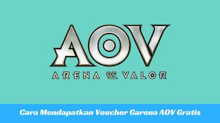 Cara Mendapatkan Voucher Garena AOV Gratis Tutorial Mendapatkan Voucher Garena AOV Gratis