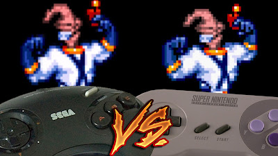 Mega Drive Vs SNES - Earthworm Jim