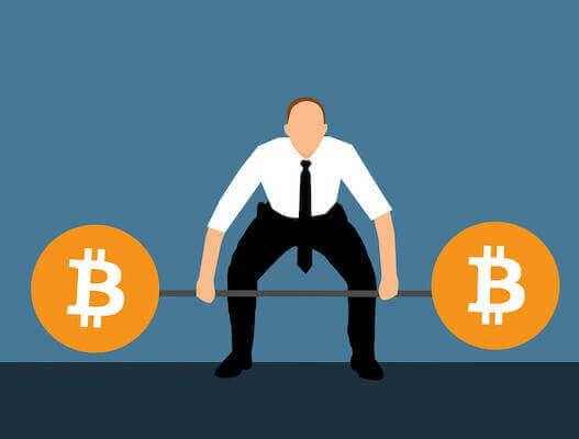 ビットコイン価格上昇