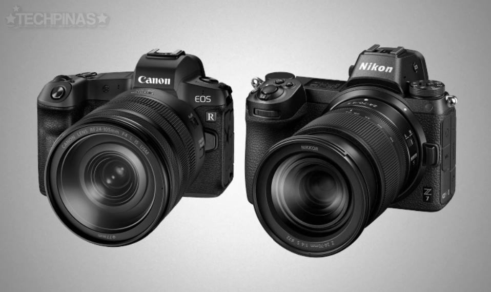 Canon EOS R vs Nikon Z7