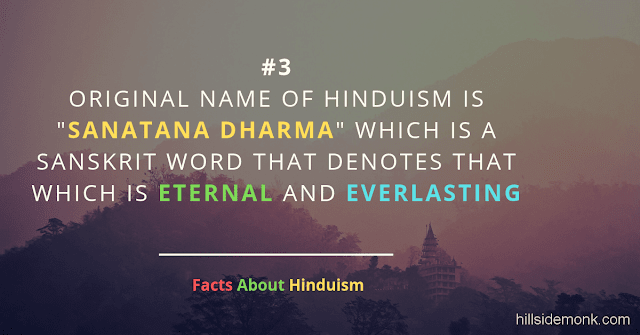 Fact About Hinduism 3 sanatan dharma
