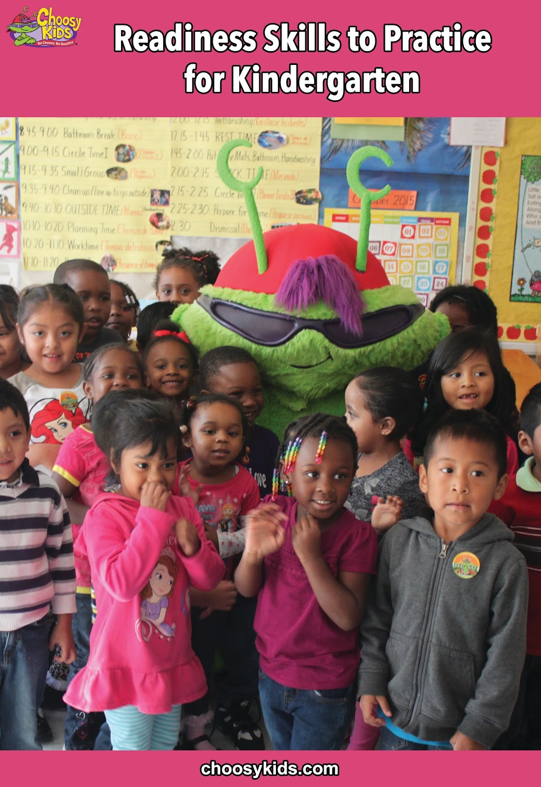 Choosy Kids Readiness Skills To Practice For Kindergarten
