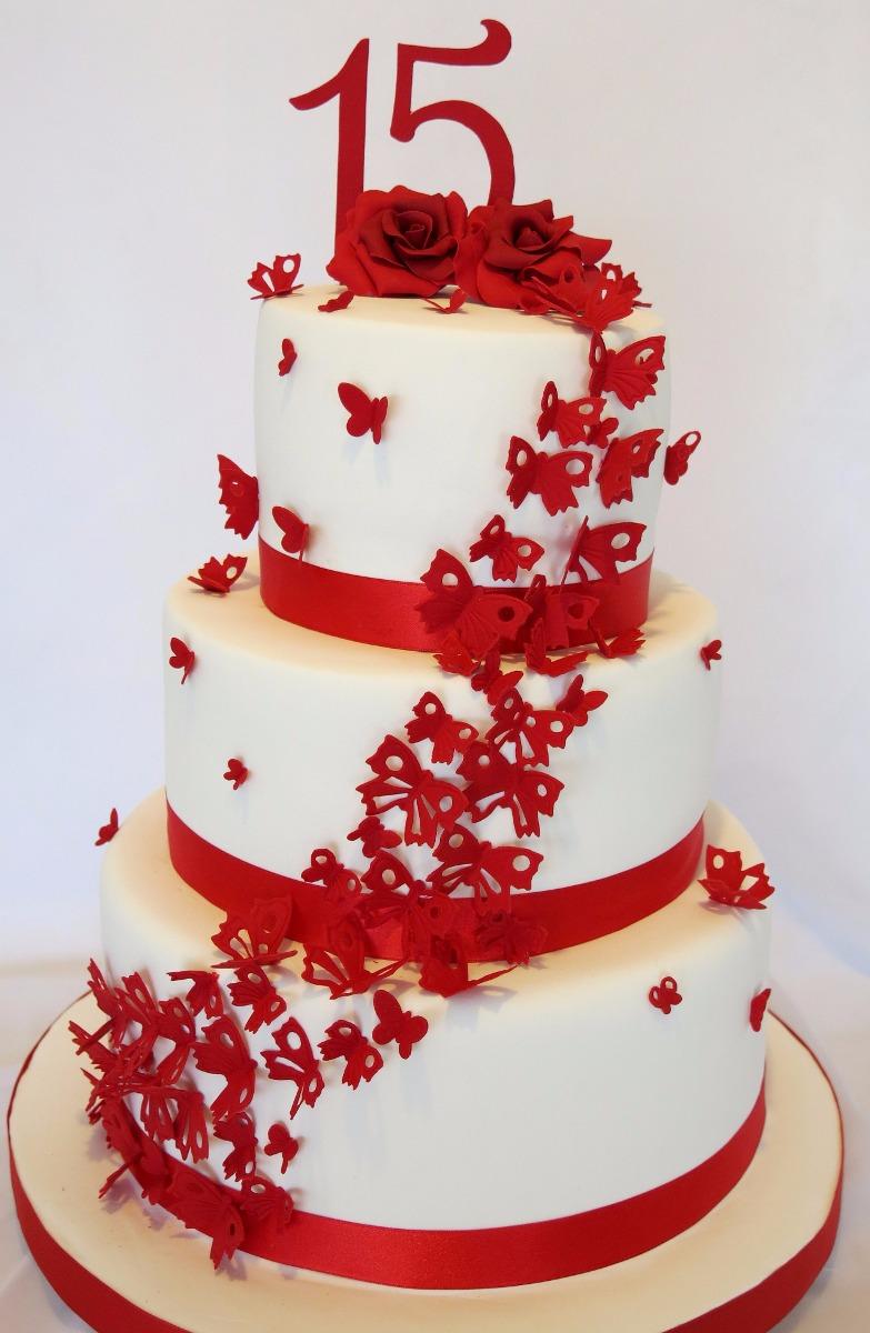 Fotos de decoracion de tortas sencillas 31