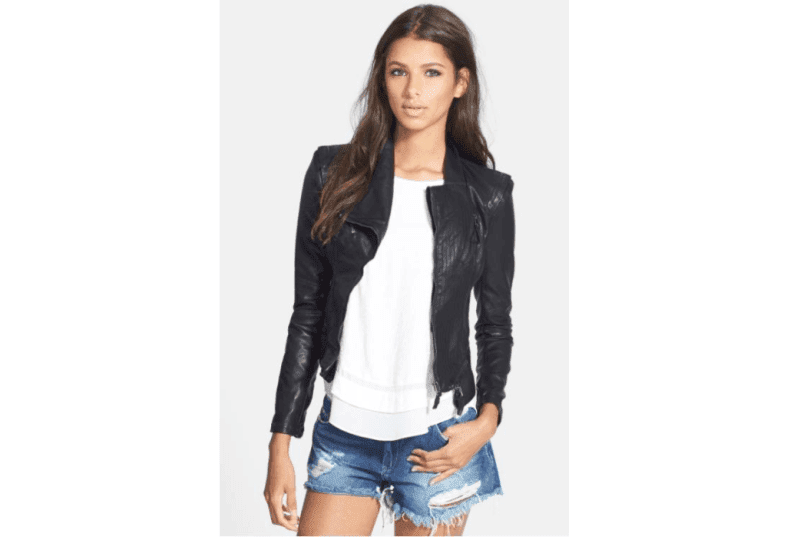 Black Fall Leather Jacket