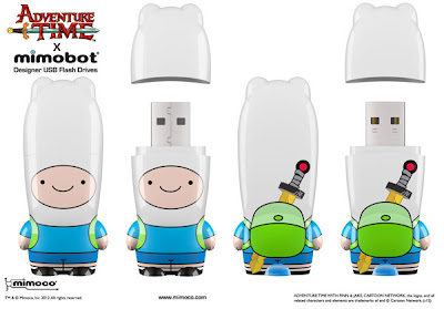 Adventure Time x Mimobot USB Flashdrive Collection - Finn