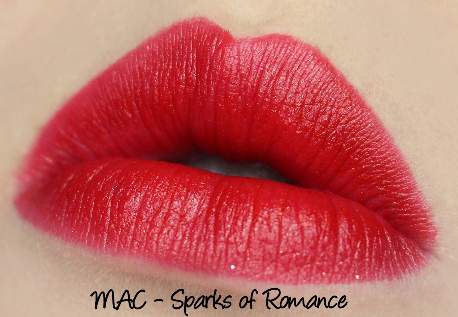 MAC Heirloom Mix Lipstick - Sparks of Romance Swatches & Review