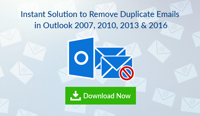remove duplicate emails from Outlook