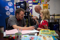 McKenna Grace and Marc Webb on the set of Gifted (2016) (33)