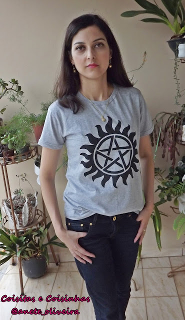 Look Jeans e Camiseta