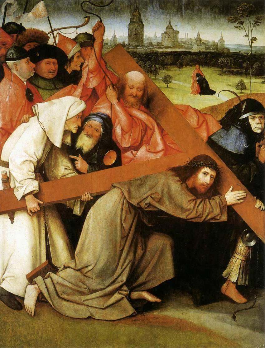 Cristo Carregando a Cruz - Bosch, Hieronymus e suas principais pinturas