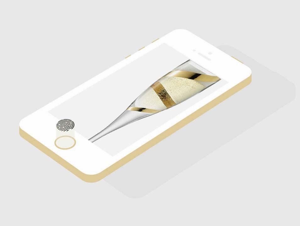 Flat iPhone 5S PSD Template