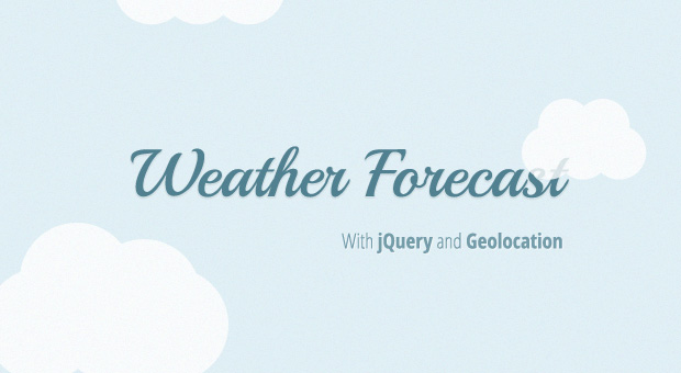 Tutorial Geolocation and Yahoo�s APIs to build a simple weather webapp