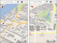 3D buildings in Google Maps Android: London, Paris, Barcelona, and more
