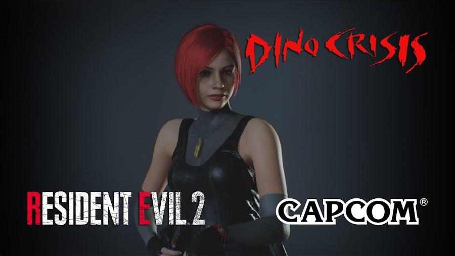 resident evil 2 remake dino crisis mod regina