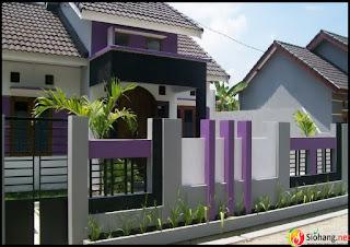 pagar rumah cantik