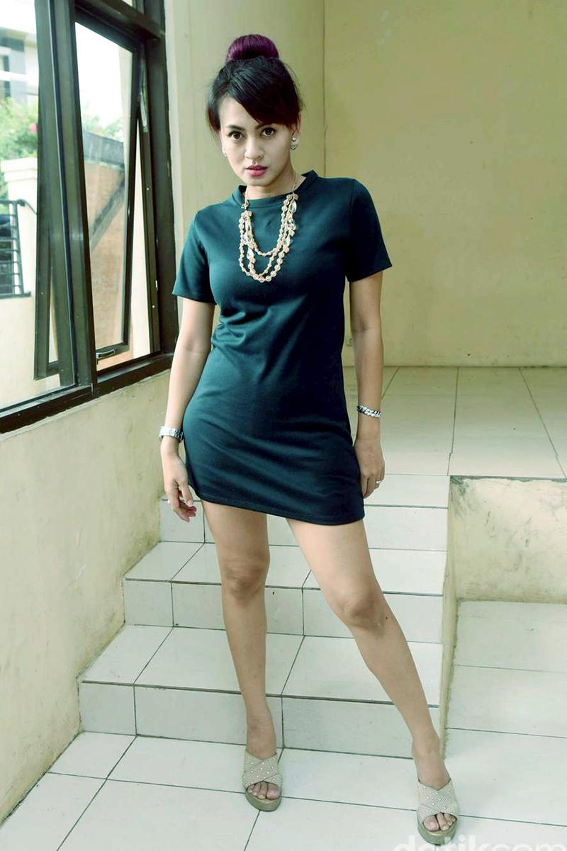 OOTd baju ketat Yeyen Lidya