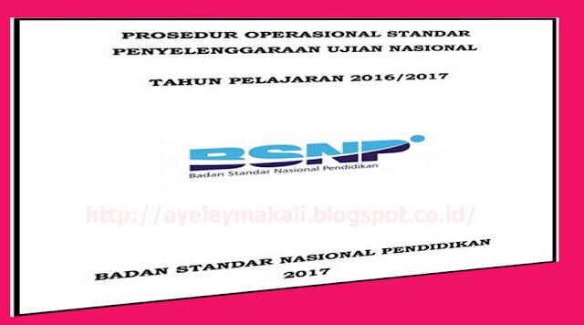 http://ayeleymakali.blogspot.co.id/2017/01/prosedur-operasional-standar-pos-un.html