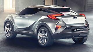 Toyota CHR 2018 Tampil Sporty, Ini Kelebihannya