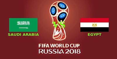مواجهة مصر و السعودية في مونديال روسيا 2018