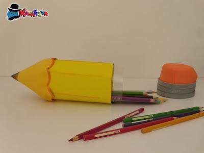 lavoretti creativi con uso del fommy - astuccio matita maxi