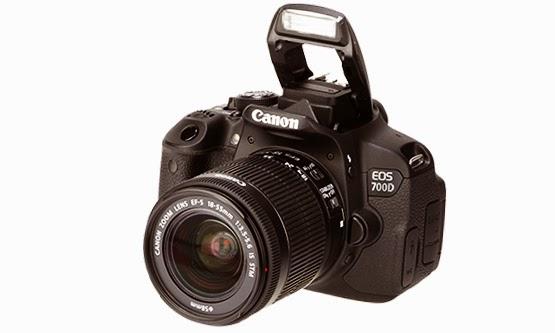 Harga Kamera Canon DSLR EOS 700D dan Spesifikasi Lengkap 2015