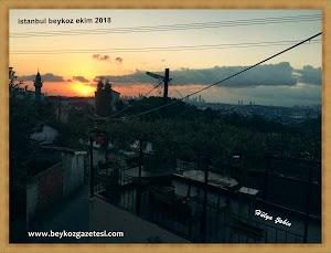 istanbul beykoz akşam manzarası 2018