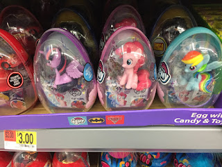 MLP Easter Egg Figures With Jelly Beans