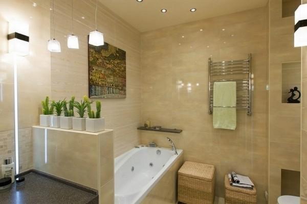 Badezimmer Modern Fliesen