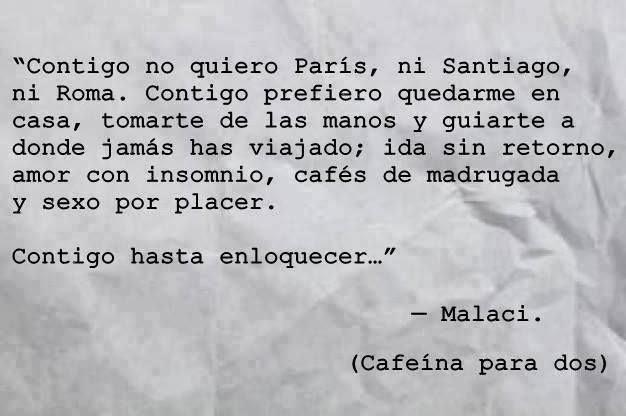 """Amor Frases Anoche: Las Cartas Que No Has Leido.. : """"Contigo Hasta Enloquecer..."""""""