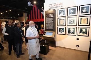 PM Modi inaugrates National Museum of Indian Cinema in Mumbai